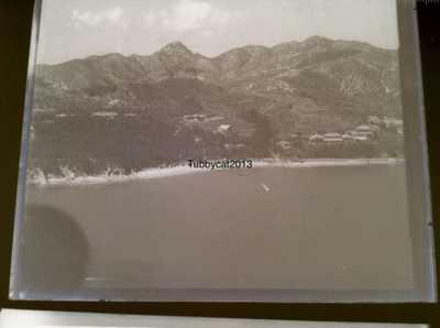 GLASS NEGATIVE RAF CHINA Wei Hai Wei Liu Kung Tao Liugong SHANGHAI PEKING Int