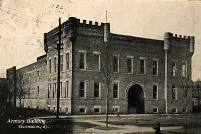 OWENSBORO, KY ~ Armory Building ~  Postcard