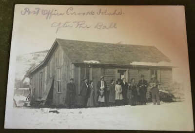 "RPPC Crooks Idaho Post Office ""After The Ball""'"