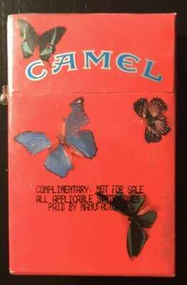 DAMIEN HIRST CAMEL LIMITED-EDITION ARTIST's PACK.