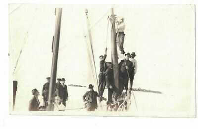 1919 PHOTO OF STEAMSHIP PRINCESS SOPHIA SHIPWRECK ALASKA POSTCARD SIZE #2