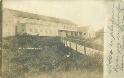 CHERRY GROVE FIRE ISLAND NY HOTEL CHERRY GROVE 1911 PHOTO POSTCARD