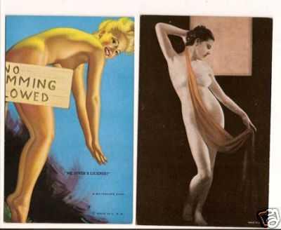 valuable rare postcards december 2009