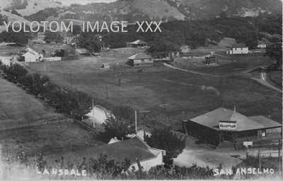 RPPC-Sir Francis Drake-Border Of Fairfax-San Anselmo-Ca-Marin-Ross Cancel