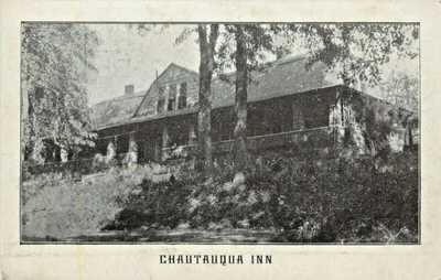 A View Of The Chautauqua Inn, Tourist Rooms, Route 54, Owensboro, Kentucky KY