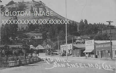 RPPC-Red Hill-Hub-Sir Francis Drake-San Anselmo-Ca-Marin-Early View
