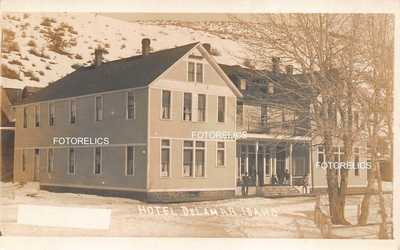 Hotel Delamar, De Lamar Idaho Gold, Silver Mining Ghost Town Owyhee Real Photo