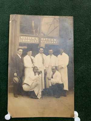 OWENSBORO,KY..HAYDEN & RATICAN BAR & RESTAURANT 3RD & FREDERICA..RP POSTCARD