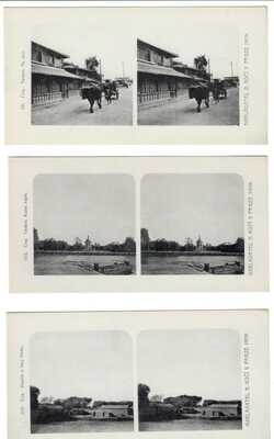 China - Set of Stereoview - 30 Pcs  Czechoslavak Edit. Tietsin,Beijing,Shanghai