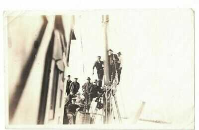 1919 PHOTO OF STEAMSHIP PRINCESS SOPHIA SHIPWRECK ALASKA POSTCARD SIZE #1