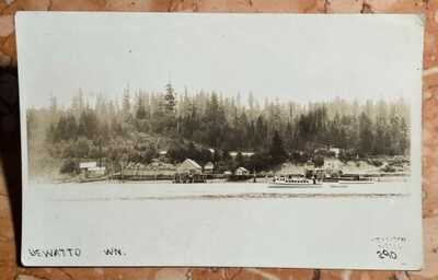 c1910 Dewatto, Hood Canal, Washington RPPC, Photo Postcard WA, OT Frasch Seattle