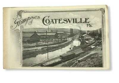 VTG Glimpses Of Coatesville Pennsylvania Complete Set Of 17 Postcards