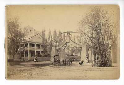 "cabinet photo eagle gate bee hive house salt lake city, Ut. 1880""s"