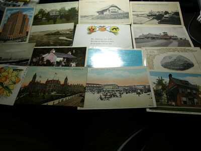 TEN POUNDS NINE OUNCES OF POST CARDS UNCHECKED