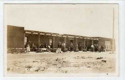 CRAFTS DEL NAVAJO, TRADING POST, COOLIDGE: New Mexico USA postcard (C63428)