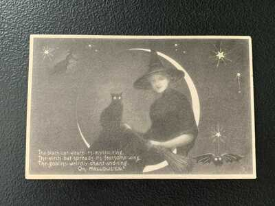 Antique Halloween Postcard #15