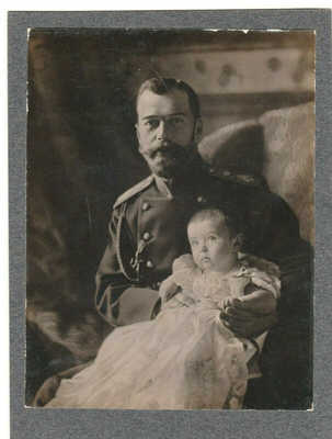 1904 RUSSIAN IMPERIAL ANTIQUE CABINET CARD PHOTO RUSSIA EMPEROR NICHOLAS PASETTI