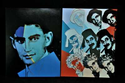Andy Warhol 1981 (9) '10 Portraits of Jews of the 20th Century ' Card Folio