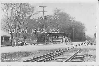 RPPC-Yolanda Station-Rare Train Depot-Looking Towards Fairfax-San Anselmo-Ca
