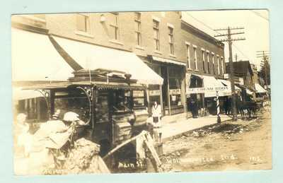 X-R/P-P/C-Popcorn Peanuts Wagon, MAIN ST.- Wolcottville, IND.-1914-PP-3205