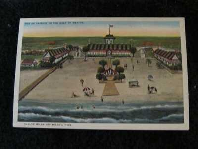 Biloxi Postcard