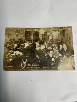 Very old RPPC The Samovar, West Fourth Greenwich Village,New York City