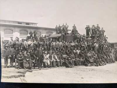 Union Pacific Yards, Ogden, Utah, ca 1900. 6 X 8
