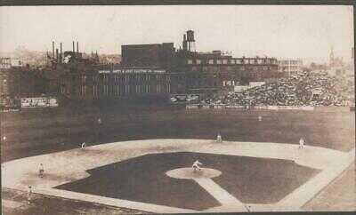 Crosley Field, Cincinnati Reds Baseball Stadium RP Postcard C1930, Eppa Rixey