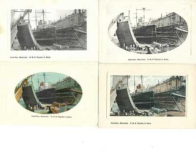 Fascinating accumulation of BERMUDA postcards published by J.H. Bradley, Bermuda