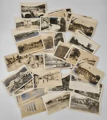 63- Early 20th Century T.E. Phipps Puerto Rico Real Photo Postcards Lot