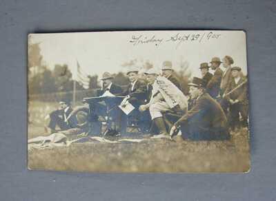 Vintage Real Photo Post Card  Baseball Jack Chesbro
