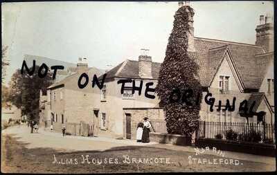 Alms houses, Bramcote, near Stapleford, Nottinghamshire, c.1908