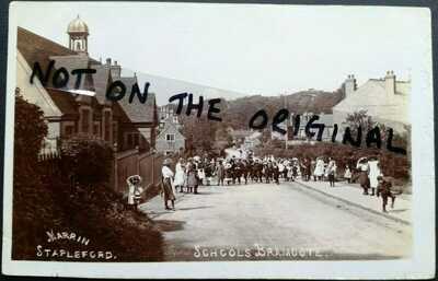 The schools, Town Street, Bramcote, near Stapleford, Nottinghamshire, c.1906