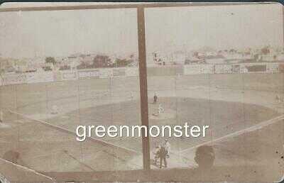Rare 1910 New Orleans Pelican Park Stadium Baseball Real Photo Postcard
