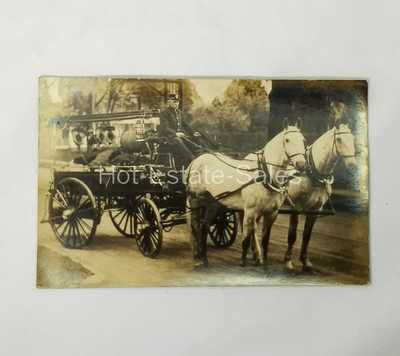 17 Fire Dept RPPC Real Picture Post Cards