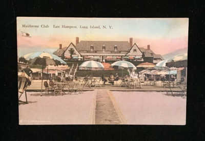 1900s Postcard Maidstone Club East Hampton Long Island UNUSED PC