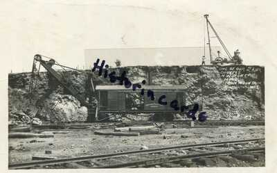 RP Iron Mountain Wisconsin Mining Railroad Iron Ridge WI