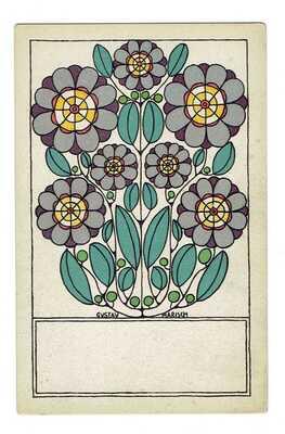 Wiener Werkstätte Postcard N 784 Postekarte  Artist: Gustav Marisch
