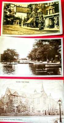 Vintage Postcards of LEYTONSTONE