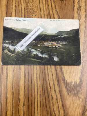1909 Walland Tennessee Postcard Tn Tenn PC Little River RARE