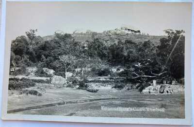 Hong Kong Real Photo Postcard Sung Wong Toi宋皇臺 Kowloon City 1930s