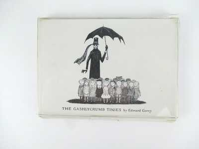 The Gashlycrumb Tinies by EDWARD GOREY Set of 26 + Postcards in Box VERY SCARCE