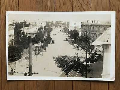 CHINA OLD POSTCARD CANTON SWATOW SHANTAUNG STREET CITY VIEW !!