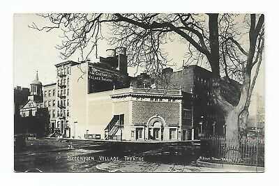 c1915 RPPC JESSIE TARBOX BEALS, Greenwich Village Theater, New York City