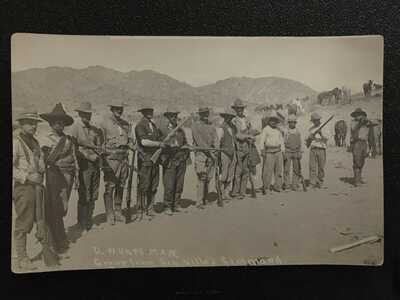 Mexican Revolution Postcard (RPPC), Fighters under General Villa's command