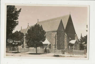 Postcard - Roman Catholic Church, Beechworth, Victoria.