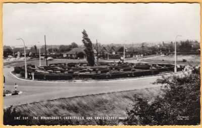 CHESTFIELD ROUNDABUOT [KENT] : VINTAGE REAL PHOTO POSTCARD
