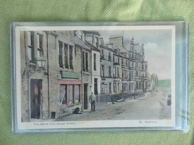 Saint Andrews Tom Morris Golf Postcard    c.1905