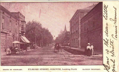 1906 Corinth, Mississippi - Filmore Street, Looking North