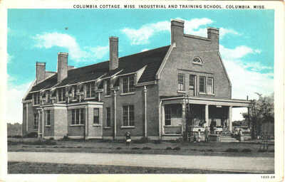 1929 Columbia, Mississippi - Columbia Cottage, Industrial and Training School